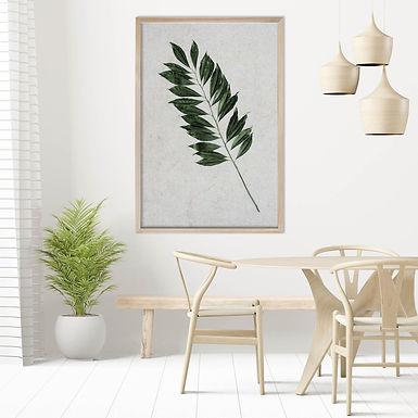 Tropical Leaves Wall Art | Single Print 11