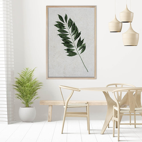 Tropical Leaves Wall Art | Single Print 11