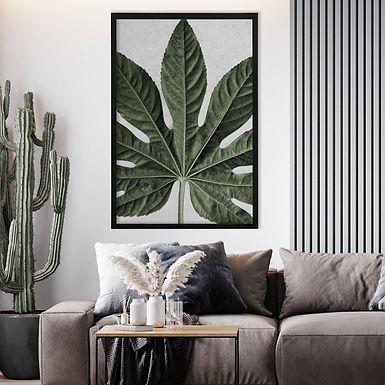 Tropical Leaves Wall Art | Single Print 6