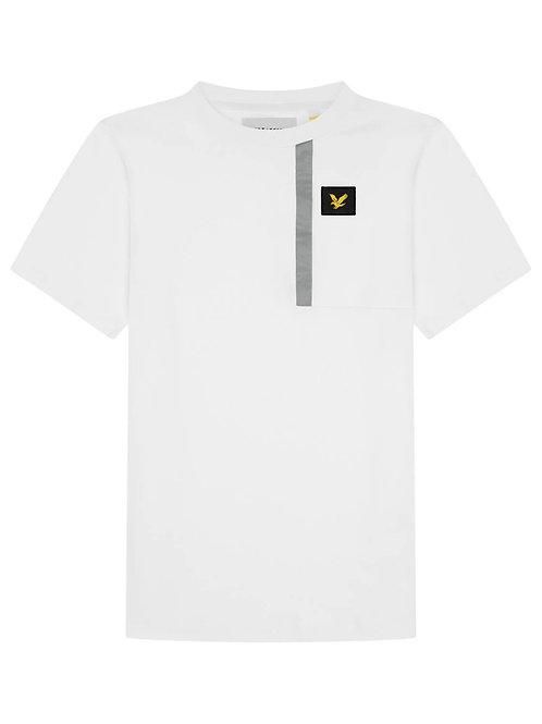 Casual reflective Tshirt white