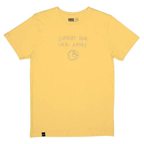 Tshirt local planet YELLOW
