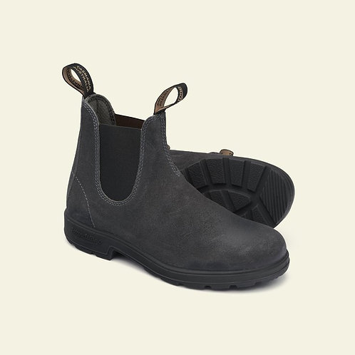 BLUNDSTONE 1910 grey waxed