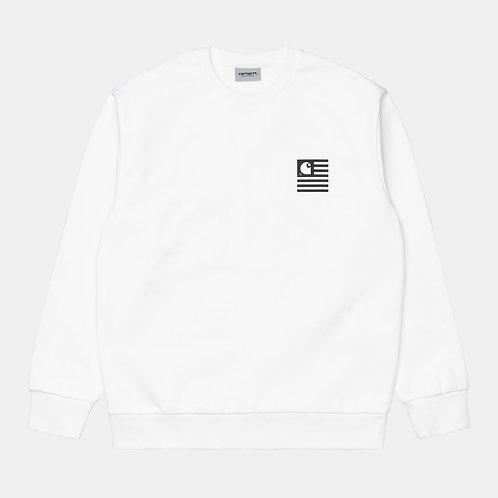 Wavy State sweatshirt white