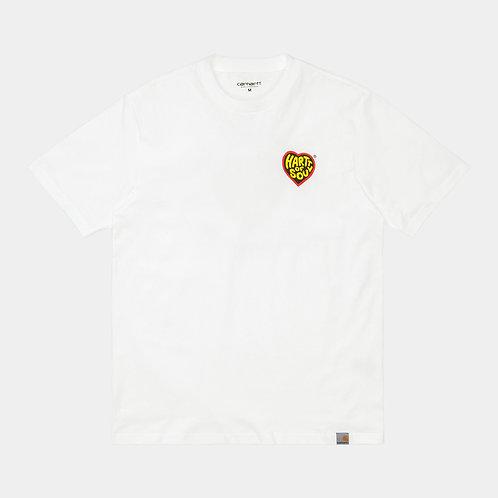 Hartt of soul Tshirt White