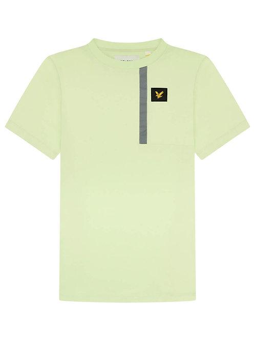 Casual reflective Tshirt green