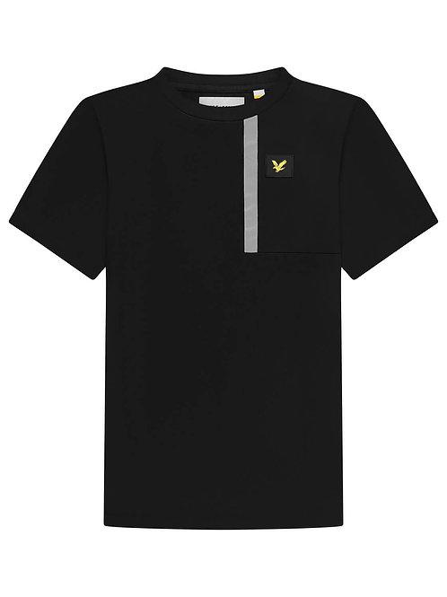 Casual reflective Tshirt black