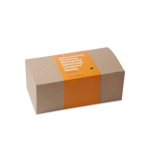 Boîte brune rectangulaire
