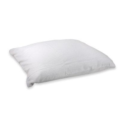 Protège-oreiller blanc (10/carton)