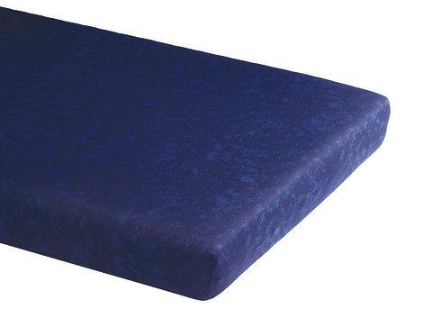Protège-matelas 1 P bleu chiné (10/carton)