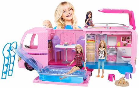 Barbie karavanı