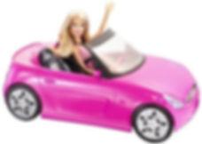 Barbie arabası