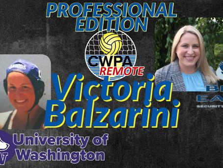 Victoria Balzarini, Principal PI, talks with CWPA Remote Professional Edition series.