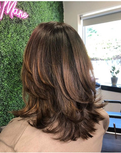 Root Touch-Up & Haircut