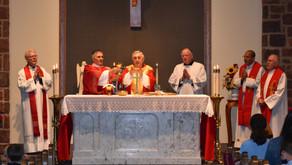 Bishop Ronald Gainer Visits OMPH School