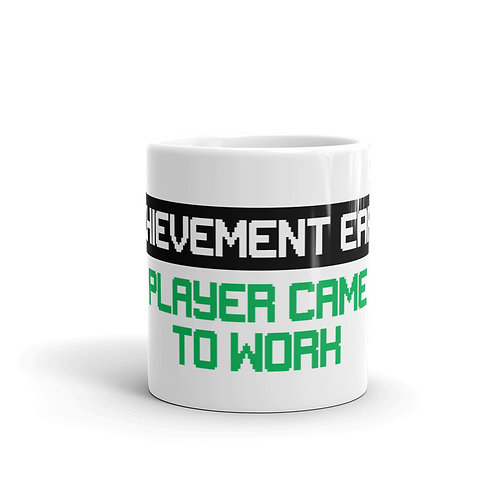 Player Came To Work Achievement Mug