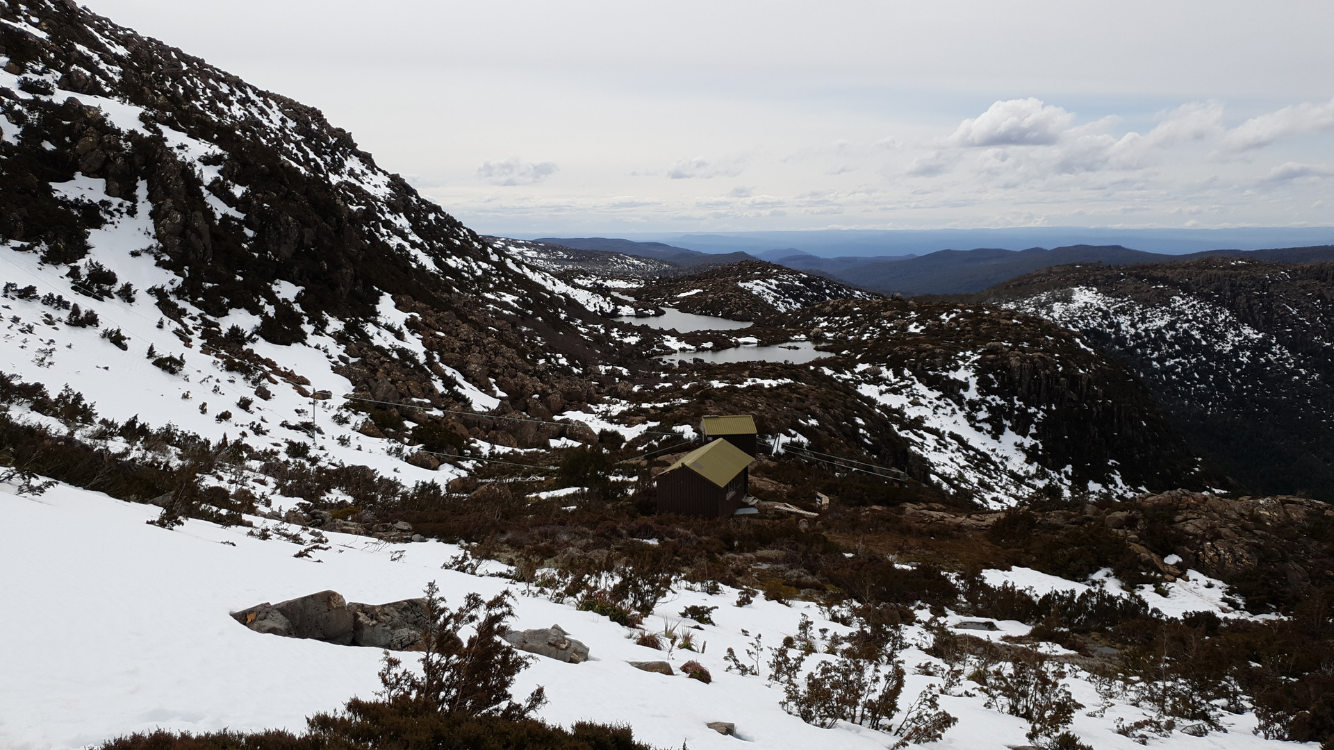 Tarn Shelf Winter Hike - Mt Field