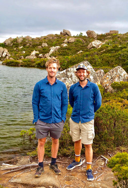 Daniel and Brenton, See Tasmania About u