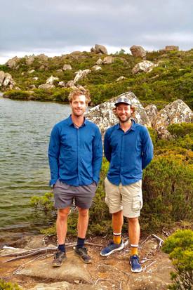 Daniel and Brenton, See Tasmania About u
