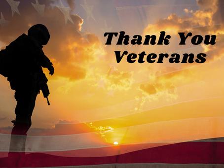 A Day For Gratitude - Veteran's Day