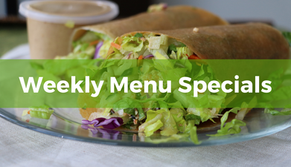 Weekly Menu Specials for 7/26/2021
