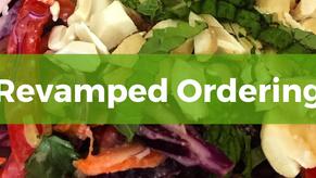Revamped Online Ordering Now Open!