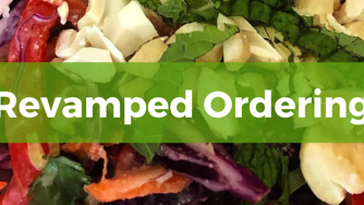 Revamped Online Ordering Now Open!