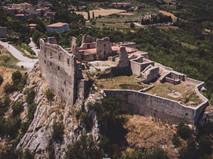 Castle D'Evoli in Castropignano, Italy