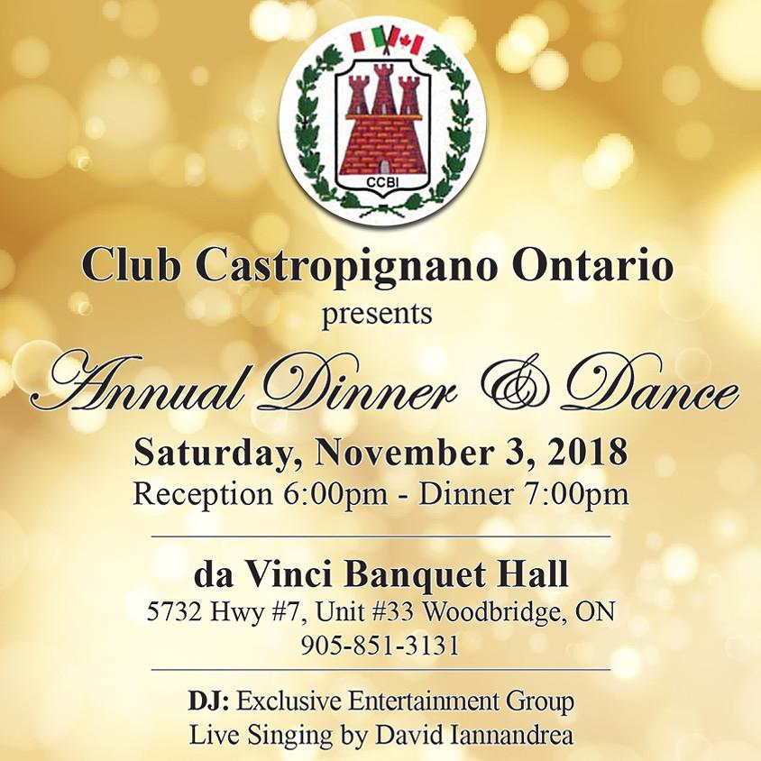 Club Castropignano Fall Dinner Dance in Woodbridge, Ontario