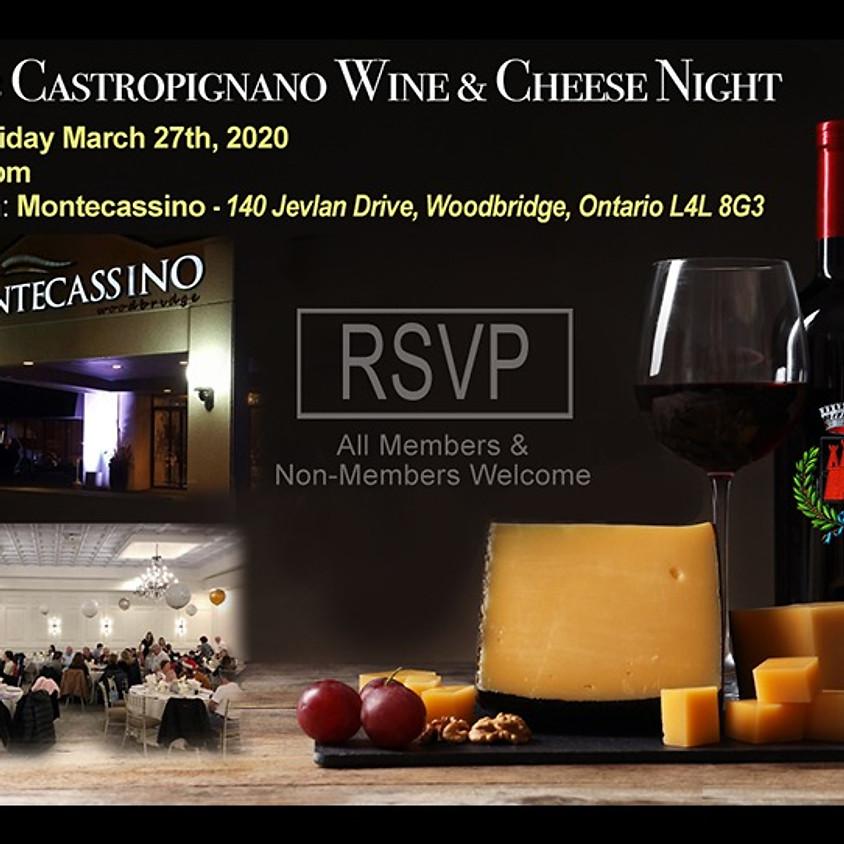 CLUB CASTROPIGNANO WINE & CHEESE EVENT