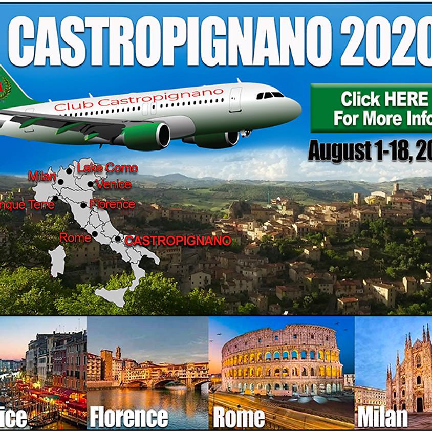 Travel to Castropignano, Italy 2020