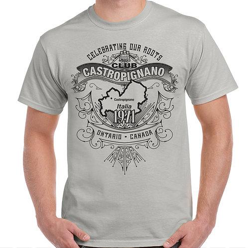 Light Grey Club Castropignano Vintage T-Shirt