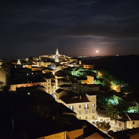 Nights in Castropignano, Italy