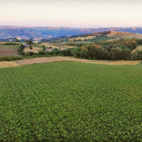 Castropignano, Italy Landscape