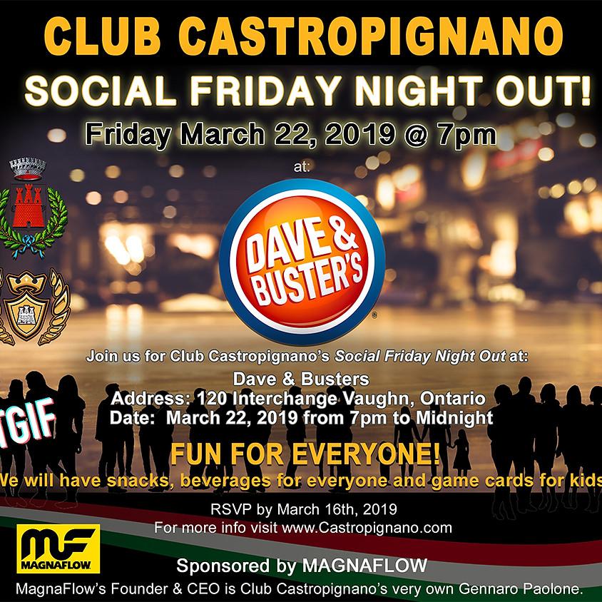 Club Castropignano Social Friday Night Out!