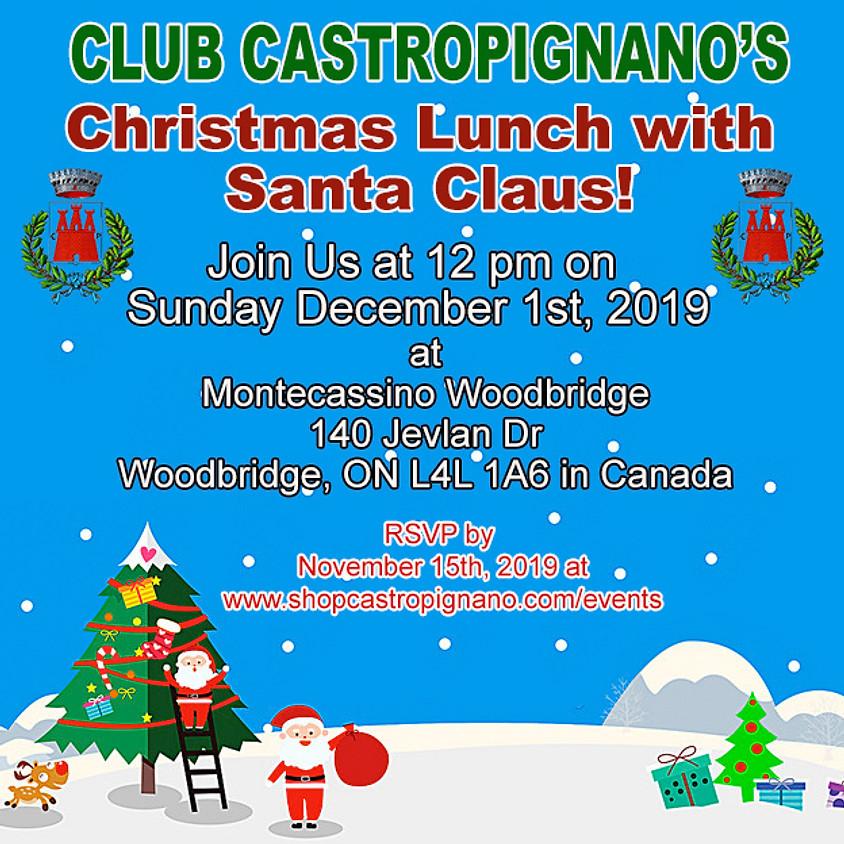 Club Castropignano Christmas Lunch with Santa Claus!