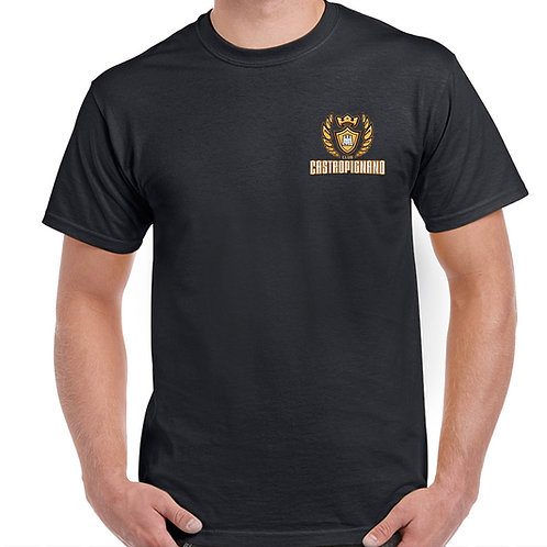 Black Club Castropignano Corner Logo T-Shirt