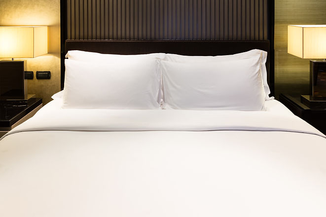 Luxury bed and pillow with light.jpg