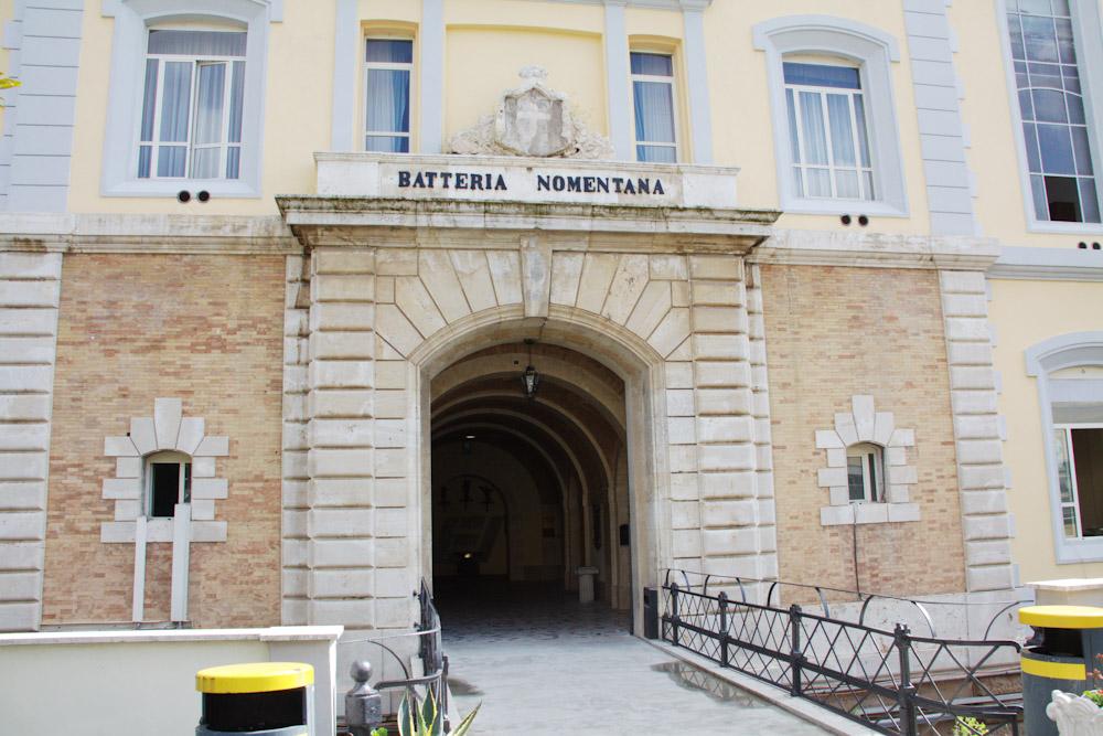 XVII - BATTERIA NOMENTANA
