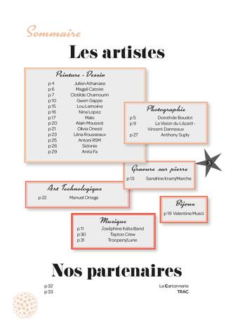 page 3 - Les Artistes