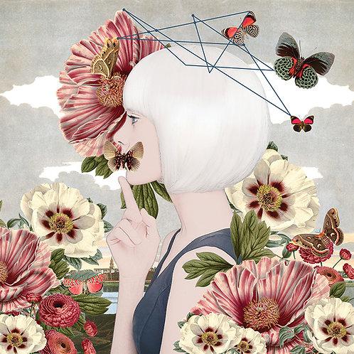 Don't Speak What the Heart Flutters  • Giclèe