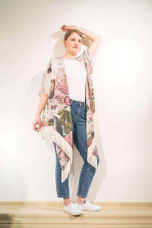Birds and Butterly Kimono Pre-order