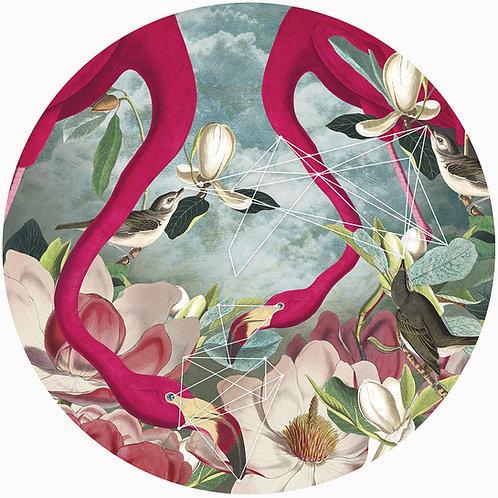 Flamingo Flowers • Giclèe Limited Edition
