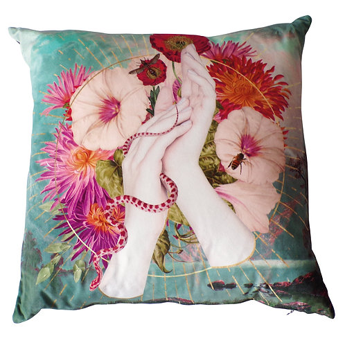 Metempsychosis Cushion