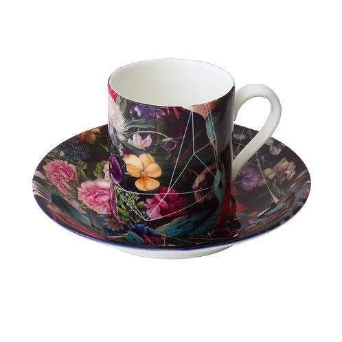 Rhythmic • Espresso Cup and Saucer
