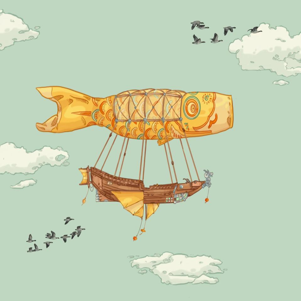 Bateau poisson