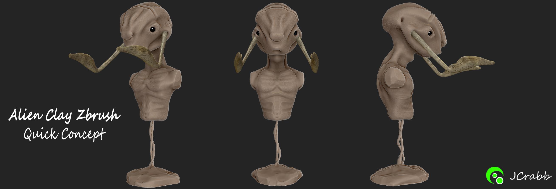 Alien Zbrush Concept