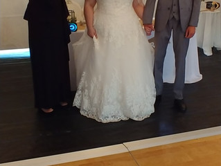 Cute wedding in Sorrento on May 26, 2018