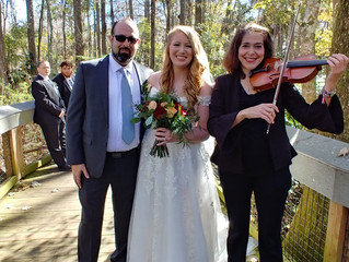 Wedding in Silver Springs State Park on December 13 (Friday), 2019
