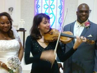 Wedding in a gorgeous church in Orlando!