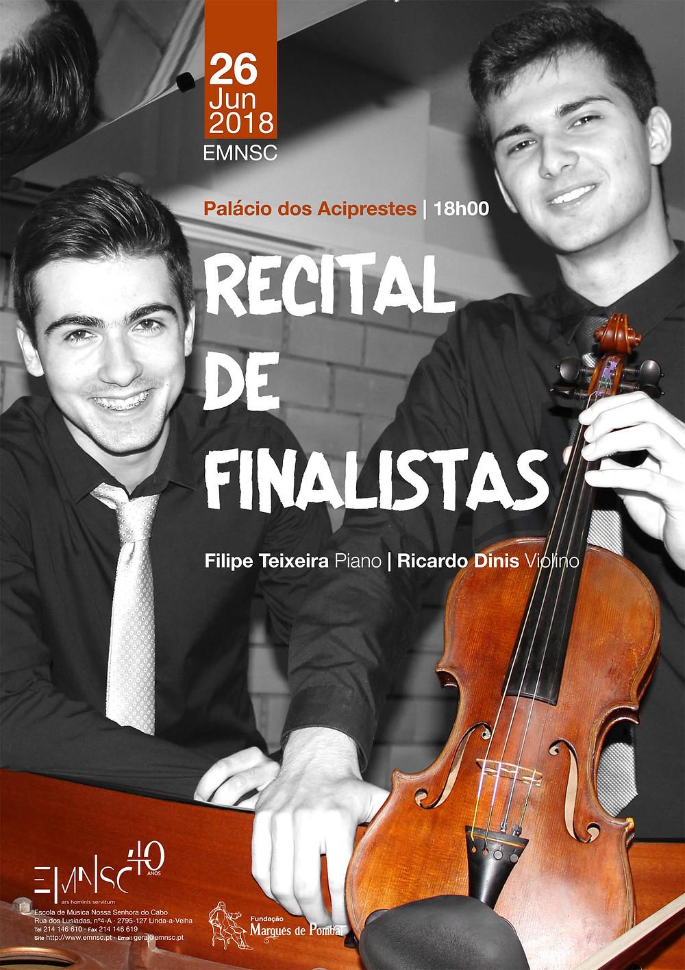 Recital de Finalistas | Violino e Piano